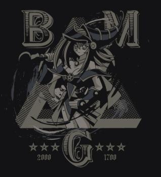 ブラックマジシャンガールTシャツ BLACK