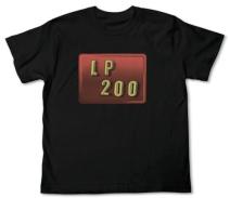 LP200ウインドTシャツ BLACK