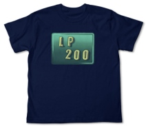 LP200ウインドTシャツ NAVY